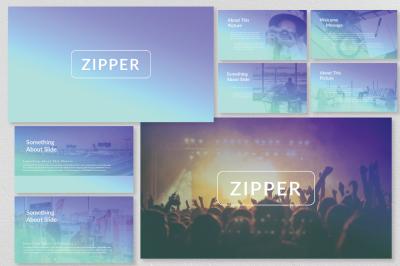 Zipper Presentation Template