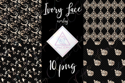 Ivory Lace Clipart