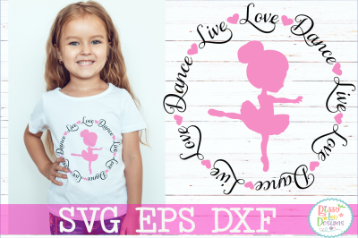 Live Love Dance SVG DXF EPS PNG Cutting File