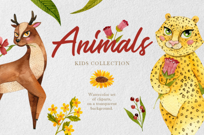 Kids collection - Animas