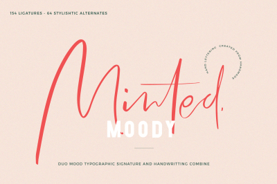 Minted Mood / Font Duo