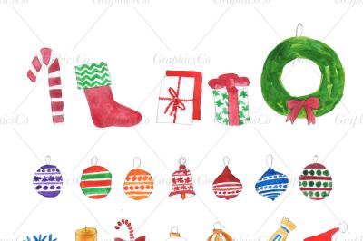 Christmas CLIPART, Christmas PNG, christmas card JPG