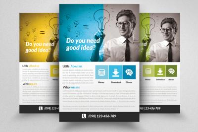 Business Idea Flyer Template
