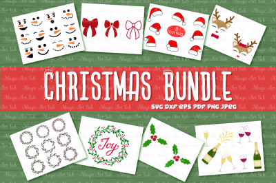 Christmas SVG, Christmas bundle SVG, Xmas svg, Holiday SVG, Clipart