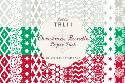 CHRISTMAS BUNDLE PAPER PACK