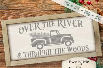 Over The River Through The Woods SVG