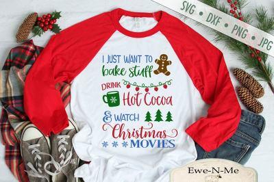 Watch Christmas Movies SVG