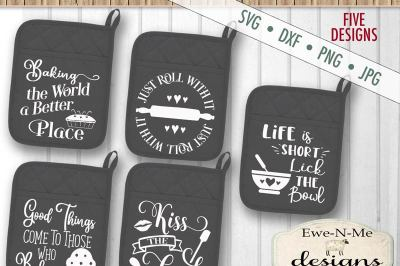 Pot Holder Bundle SVG