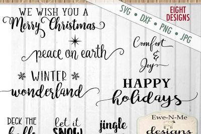 Christmas Joy Bundle SVG