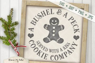 Bushel And A Peck Cookie Co SVG