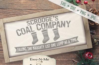 Scrooge's Coal Company SVG