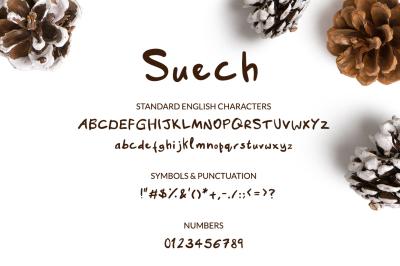 Suech - Handwritten Font