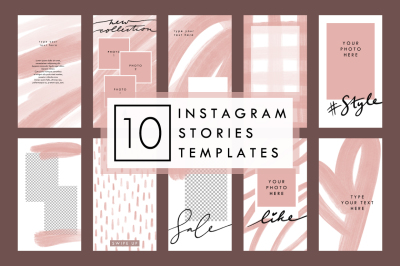 BEIGE – 10 Styled Instagram Stories Templates