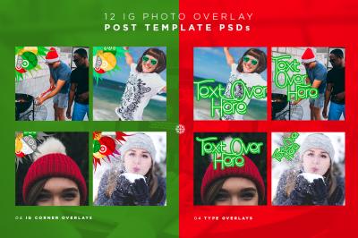 CHRISTMAS FONT DUO + 50 GRAPHICS BUNDLE + 50 TEMPLATES