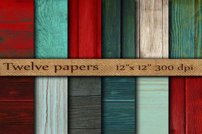 Wood digital papers