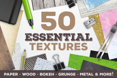 50 Essential Graphic Background Textures
