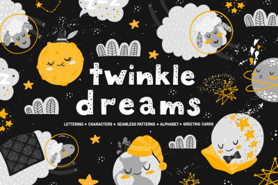 Twinkle Dreams - vector collections.
