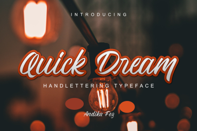Quick Dream Font | 50% OFF