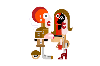 People vector artwork