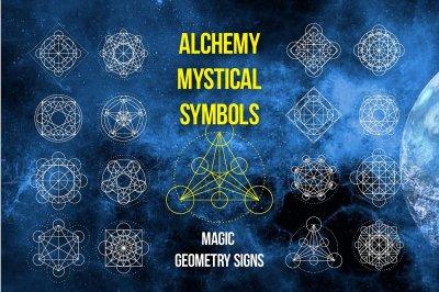 Magic geometry signs