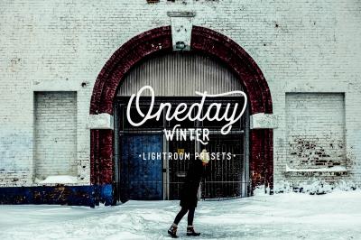 Oneday : Winter Lightroom preset