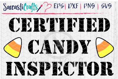 Certified Candy Inspector