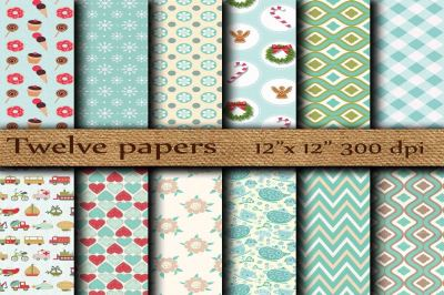 Kids digital papers