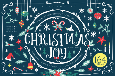 Christmas Joy - Cute X-mas Graphic Pack