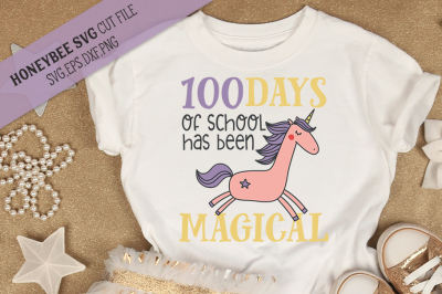 100 Days of School Unicorn