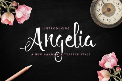 Angelia Typeface