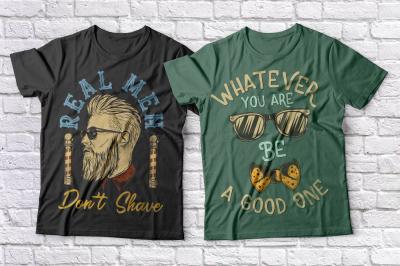 Hipster t-shirts set