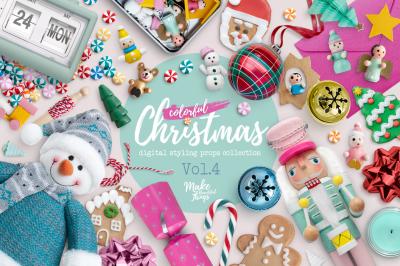 Christmas Scene Creator Vol. 4