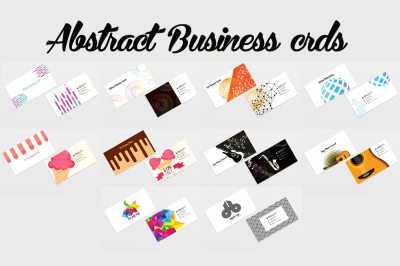 10 Multi Use Business Cards Bundle