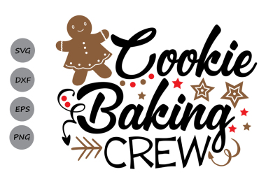 cookie baking crew svg, christmas svg, gingerbread svg, apron svg.