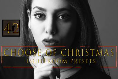 Choose of Christmas Lightroom Presets