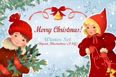 Merry Christmas! Winter Set