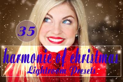 35 Harmonic of Christmas Lightroom Presets(90% Discount for Christmas)