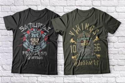 Warriors t-shirts set