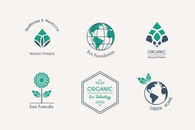 6 Ecological Logo Templates