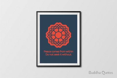 15 Buddha Quotes Posters