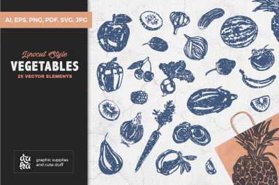 Vegetables SVG