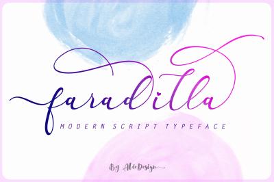 Faradilla - Beautiful Script Font