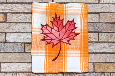 Maple Leaf | Applique Embroidery