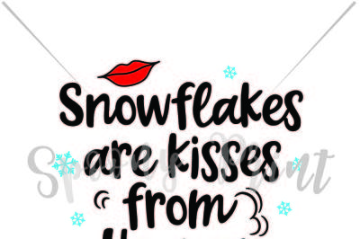 snowflakes ae kisses from heaven