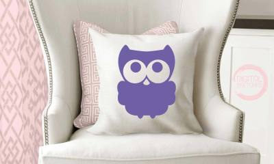 Owl Bird Cut File Vector Silhouette