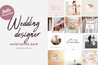 Wedding Designer - Social Media Pack