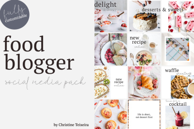 Food Blogger - Social Media Pack