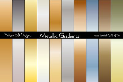 Gradient Metallic Backgrounds
