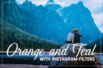 Orange and teal Lightroom presets & Instagram filters