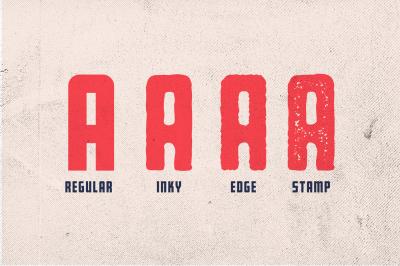 Bearbone Sans (8 Fonts!) 30% OFF